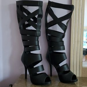 Sexy Gladiator Sandals/Heels in size 10.